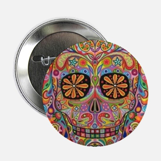 "day of the dead 2.25"" Button"