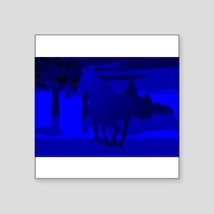 """horse4 Square Sticker 3"""" x 3"""""""