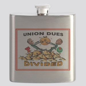 UNION GREED Flask