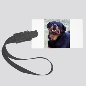 Rottweiler Large Luggage Tag