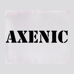 Axenic Throw Blanket