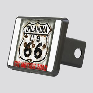 Oklahoma Route 66 Classic Rectangular Hitch Cover