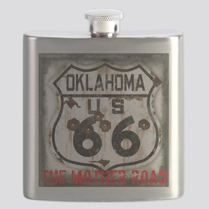 Oklahoma Route 66 Classic Flask