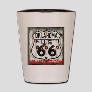 Oklahoma Route 66 Classic Shot Glass