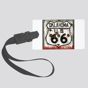 Oklahoma Route 66 Classic Large Luggage Tag