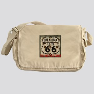 Oklahoma Route 66 Classic Messenger Bag