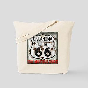 Oklahoma Route 66 Classic Tote Bag