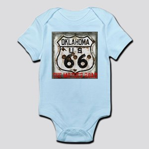 Oklahoma Route 66 Classic Infant Bodysuit