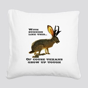 Jackolope9 Square Canvas Pillow