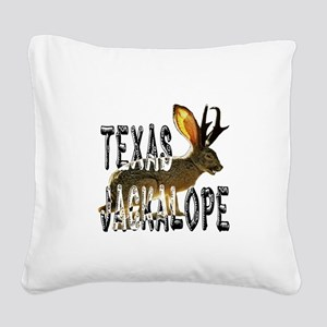 Jackolope7 Square Canvas Pillow