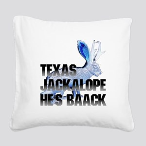 Jackolope5 Square Canvas Pillow