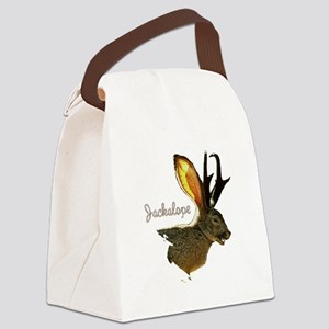 Jackolope8 Canvas Lunch Bag