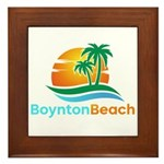 Boynton Beach Framed Tile