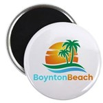 "Boynton Beach 2.25"" Magnet (10 pack)"