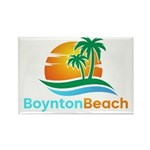 Boynton Beach Rectangle Magnet (100 pack)