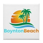 Boynton Beach Tile Coaster