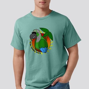 cartoon_greencheek Mens Comfort Colors Shirt