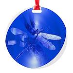 dragonfly11clk8 Round Ornament