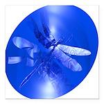 dragonfly11clk8 Square Car Magnet 3