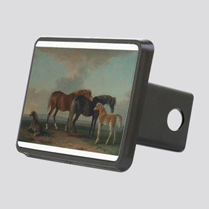 Mares and Foals Rectangular Hitch Cover