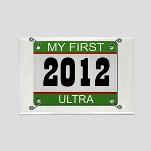 My First Ultra (Bib) - 2012 Rectangle Magnet
