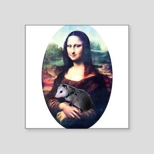 "monalisa2acd Square Sticker 3"" x 3"""