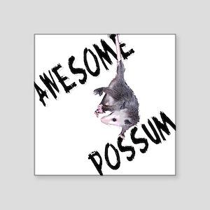 """possum32a Square Sticker 3"""" x 3"""""""