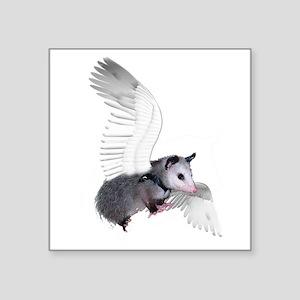 "possum15ang Square Sticker 3"" x 3"""