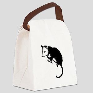 possumsil2b Canvas Lunch Bag