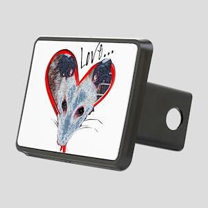 Possum Love Rectangular Hitch Cover