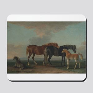 Mares and Foals Mousepad