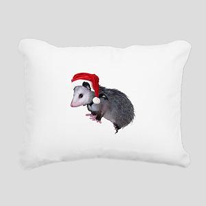 santaspossum Rectangular Canvas Pillow