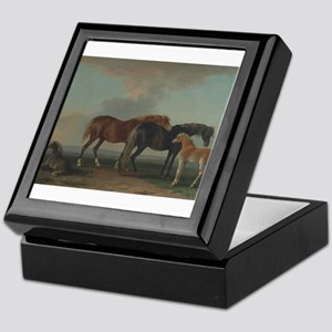 Mares and Foals Keepsake Box