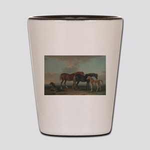 Mares and Foals Shot Glass