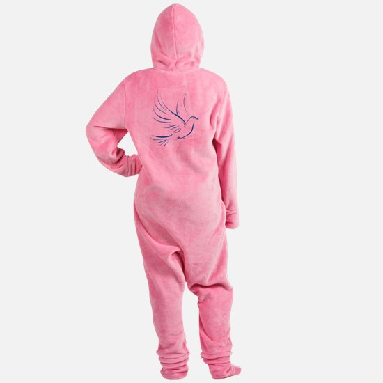 dove2.png Footed Pajamas