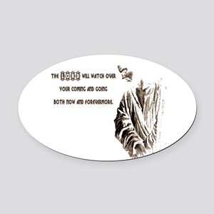 smallersz Oval Car Magnet