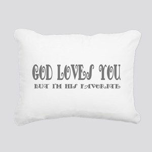favorite Rectangular Canvas Pillow