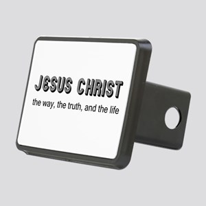 Jesus is the Way Rectangular Hitch Cover