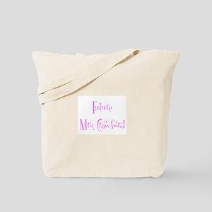 Future Mrs. Crawford Tote Bag