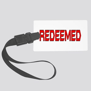Redeemed Large Luggage Tag