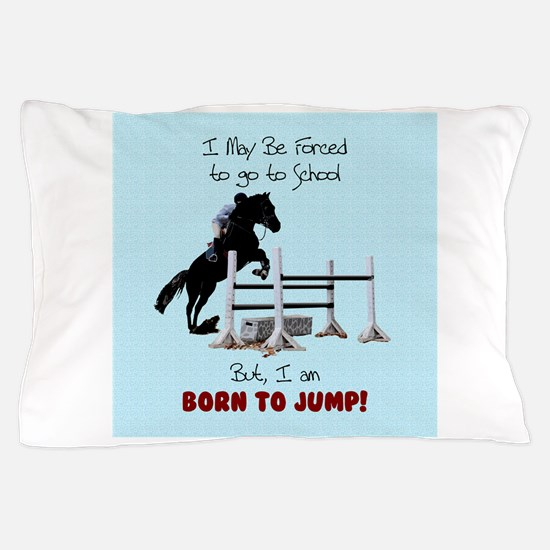 Fun Hunter Jumper Horse Pillow Case