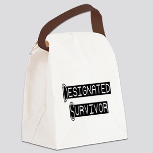 designated survivor Canvas Lunch Bag
