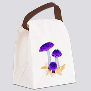 mushrooms2g Canvas Lunch Bag