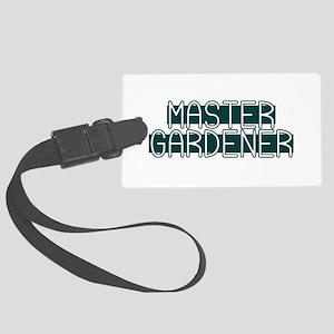 Master Gardener Large Luggage Tag
