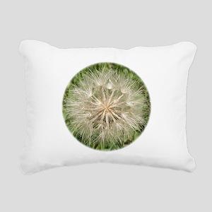 Milkweed Rectangular Canvas Pillow