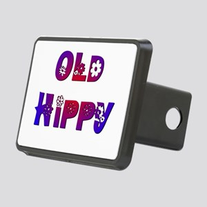 Old Hippy Rectangular Hitch Cover