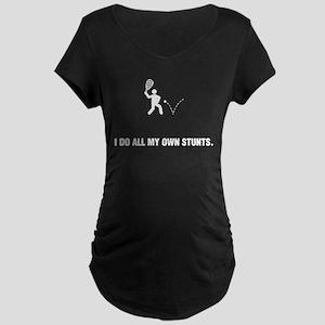Racquetball Maternity Dark T-Shirt