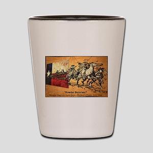 Texas Rangers - John Coffee Hays Shot Glass