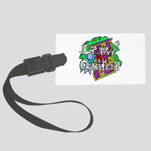 quilter1 Large Luggage Tag