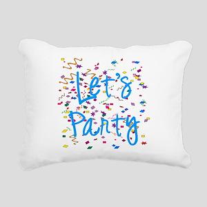 party Rectangular Canvas Pillow